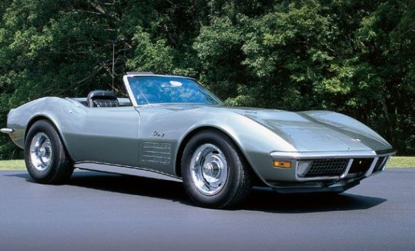 Michael Montrief Corvette Stingrays: 1971 facts, figures